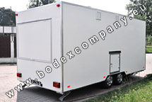 Production of commercial trailers