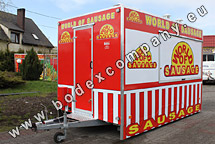 Producer of catering trailers