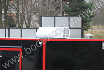 Manufacturer of trailer with air cooler