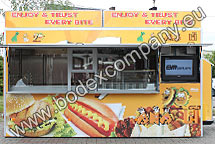 Fast food vendor trailer